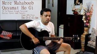 mere mahaboob qayamat hogi- guitar cover