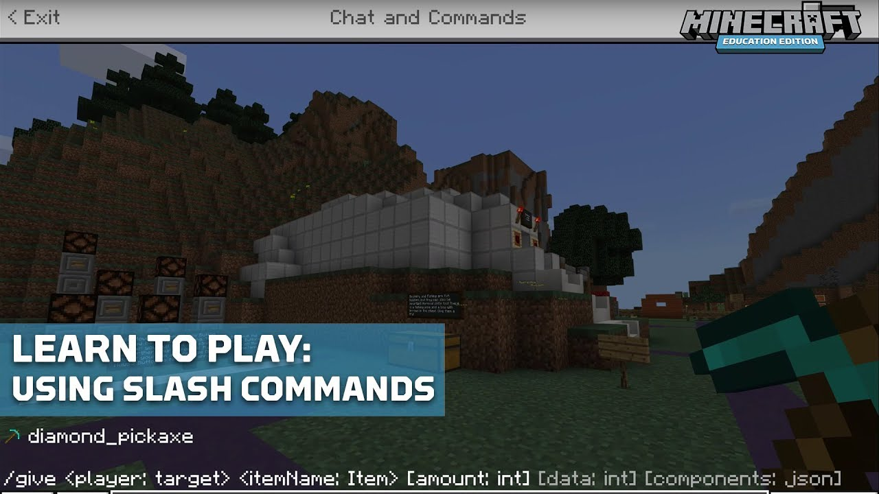 Commands in Depth – Minecraft: Education Edition Support