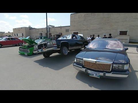 Saturday afternoon Car show @ Kildonan East Rob's Old Skool