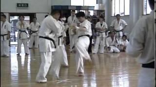 空手 黒帯昇段試験15人組手 Karate 2nd dan Black Belt Exam.(28min) ...