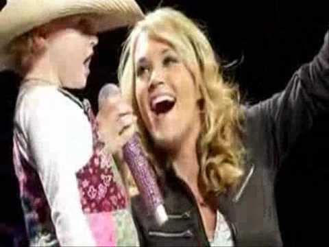 "Carrie Underwood:  ""Summer Nights"" -Rascal Flatts"