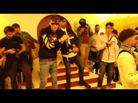 Dark Polo Gang - DPG - live Nike Store Totti X Roma
