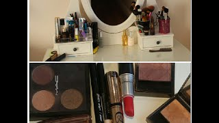 Part A: Vanity set up and makeup collection 2014 Thumbnail