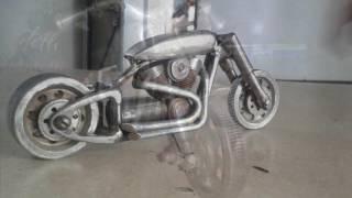 Nuts & bolts art bike