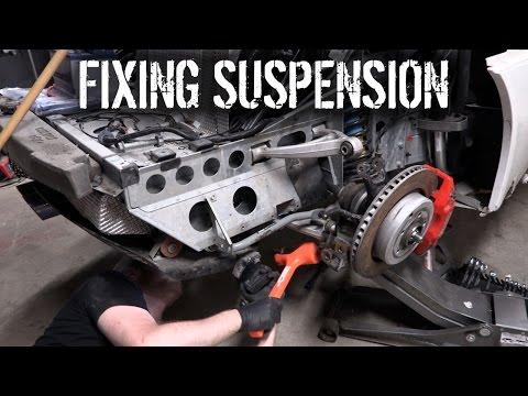 Budget Lotus Evora Pt 4 – Fixing Suspension