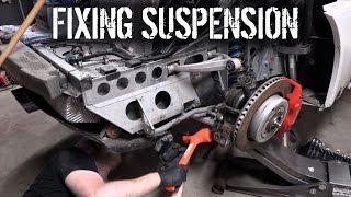 Budget Lotus Evora Pt 4 - Fixing Suspension