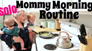Solo Teen Mom Morning Routine **REALISTIC**