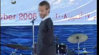 Nick Vujicic in Ramsis College - Cairo, Egypt.