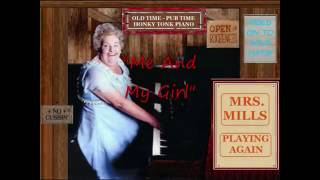 "Old time ""honky tonk"" piano playing from the unstoppable Mrs Mills:..."