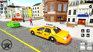 City Taxi Driving simulator: PVP Cab Games 2020 - Android Gameplay screenshot 5