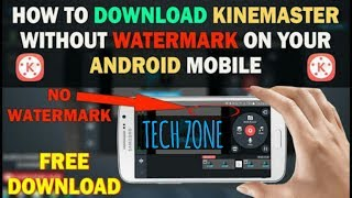 How to use kinemaster without watermark || Edit video with kinemaster and download