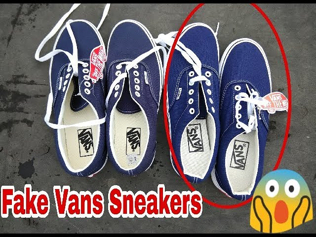 How To Spot Fake Vans Sneakers   Real