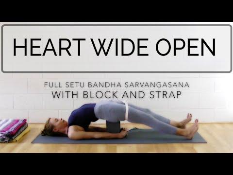 Heart Wide Open. Iyengar Yoga. 59 min. Int. & Adv. Cat de Rham. OYT #iyengaryoga #TBTyoga