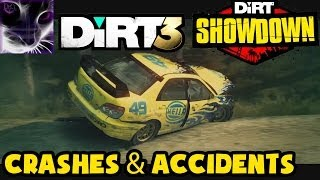 DiRT 3 / Showdown - Crashes and Accidents Compilation #1