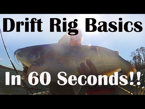 How To Use Catfish Drift Rigs - Santee Rig