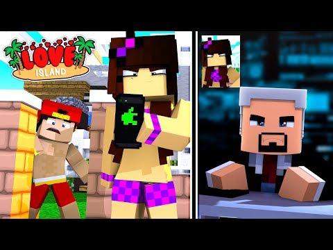 Minecraft LOVE ISLAND - THE NEW GIRL IS A SECRET AGENT ASSASSIN!!!!!