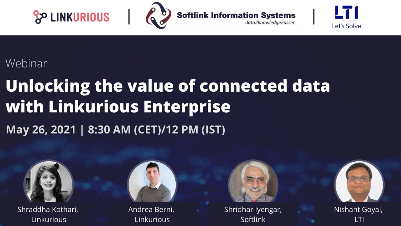 Webinar: Unlocking the value of connected data with Linkurious Enterprise