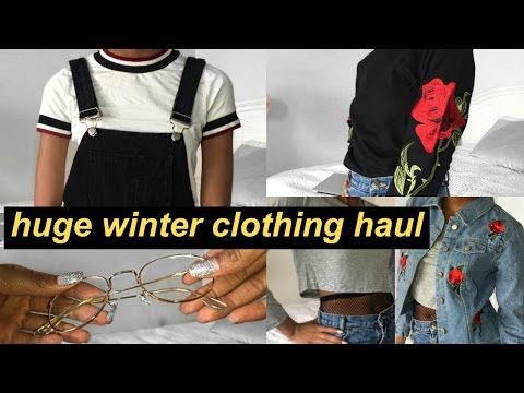 HUGE AFFORDABLE WINTER CLOTHING HAUL 2016