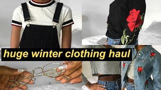 HUGE AFFORDABLE WINTER CLOTHING HAUL 2016