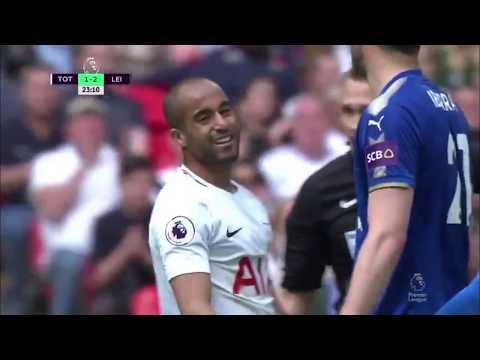 Lucas Moura vs Leicester 17/18 (H)