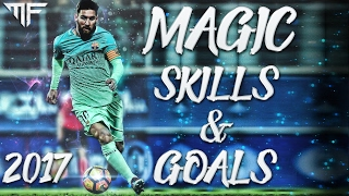 Lionel messi | magic skills & goals 2017 | hd
