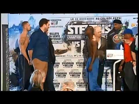 Adonis Stevenson vs Tony Bellew Weigh In!!