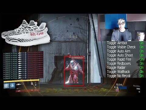 AIMTBOT HACKER Vs FANS WINNER GETS YEEZYS!! (Hacker 1v1s Fans)