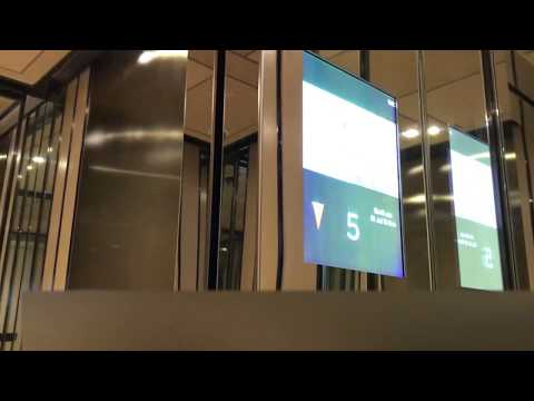 3x Hitachi Shuttle Elevators @ Sofitel Singapore City Centre*****, Tanjong Pagar Centre, Singapore