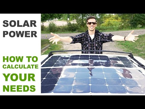 Off Grid Solar Power – How to Calculate Your Needs