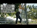 15-Minute Mini Band Booty Workout | #25DaysofMFit