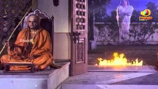 Sri Mantralaya Raghavendra Swamy Mahatyam Scenes - Lakshmi appears before Rajnikanth.