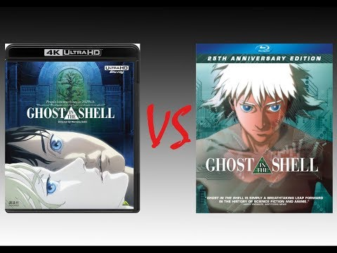 Comparison Of Ghost In The Shell 4k Hdr10 Vs Ghost In The Shell 2014 Blu Ray Edition Youtube