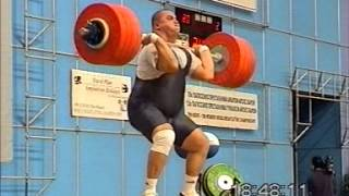 Men +105 kg 1999 World Weightlifting Championships - Athens - by GENADI - Weightlifting Expert