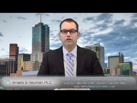 Financial Advisor Breach of Fiduciary Duty Attorney Denver and Seattle