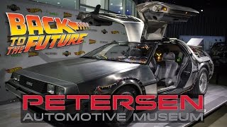 Unveiling the Original 'Back to the Future' Delorean Time Machine | Petersen Automotive Museum