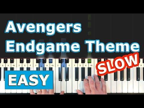 avengers-4:-endgame---main-theme---slow-piano-tutorial-easy---sheet-music