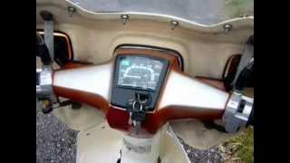 Lovely 1996 Honda C90 Cub with Rickman fairing for Sale at www.classicmopedspares.com