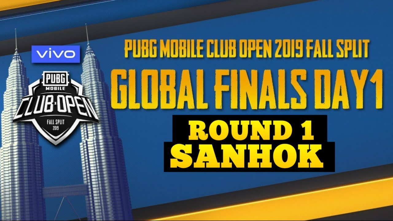 PUBG MOBILE GAMEPLAY | ROUND 1 SANHOK | PMCO GLOBAL FINALS FALL SPLIT | PUBG MOBILE CLUB OPEN 2019