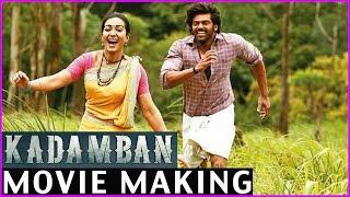 kadamban Movie Making Video - Latest Working Stills | Arya | Catherine Tresa