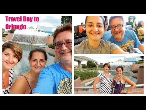 2015 Walt Disney World / Universal Trip vlog day 1 travel to Orlando