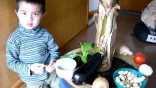Jeremy's Bahay Kubo (Nipa Hut Philippine/Philippine Vegetables Song)