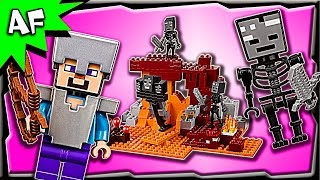Lego Minecraft The WITHER 21126 Stop Motion Build Review