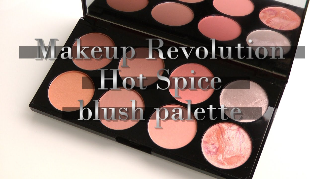 Makeup Revolution Ultra Blush Palette Hot E You