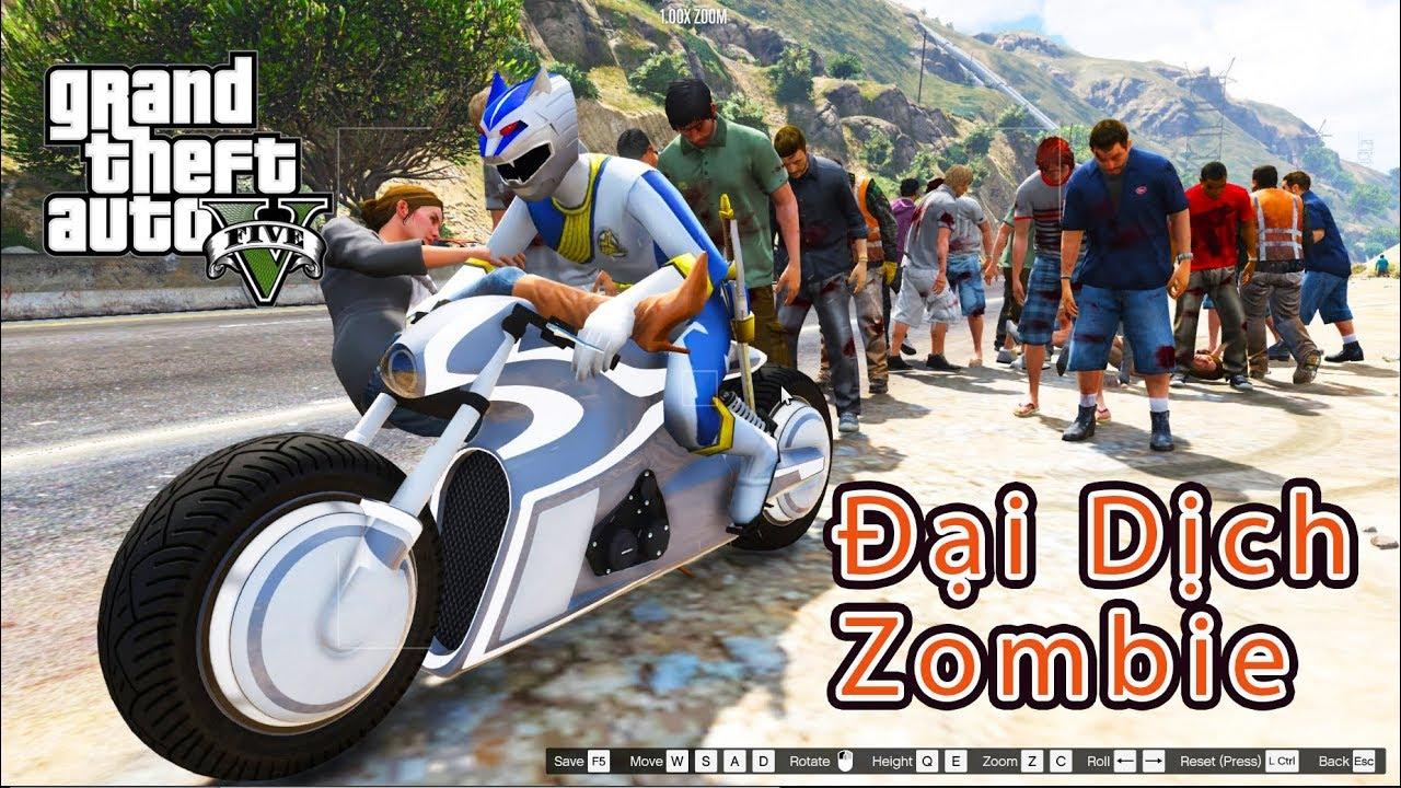 GTA 5 Mod – Siêu Nhân Gao Bạc Đi Phượt Vô Tình Gặp Đại Dịch Zombie
