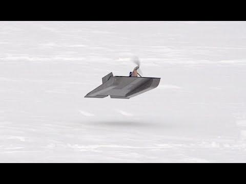 Rc Flying Sled Rctestflight Youtube