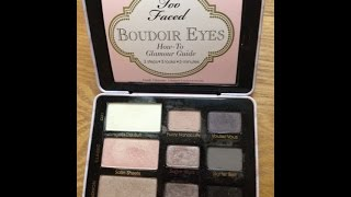 Review Saturday: Too Faced Boudoir Eyes Palette