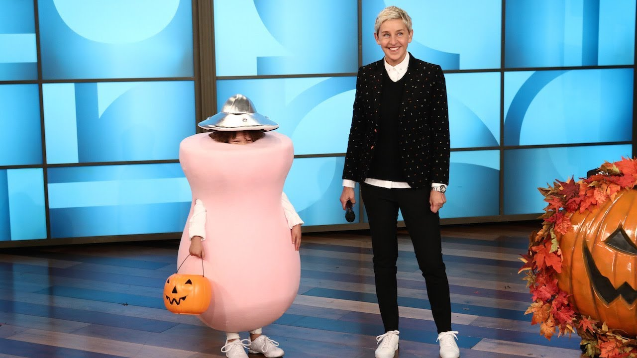 ellen presents last-minute halloween costumes - youtube