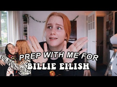 Get Ready And Pack With Me For The Billie Eilish Tour!