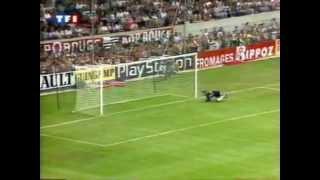 Guingamp 0 - 0  Strasbourg D1 1997/1998