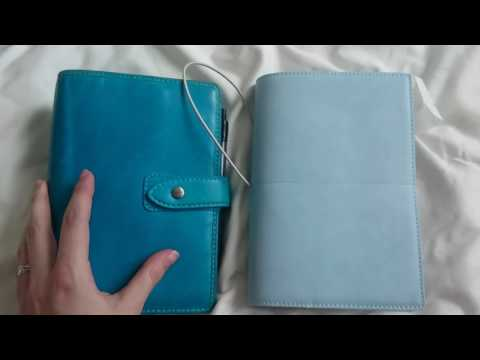 [Unboxing] Filofax Domino Soft in pale blue | personal size